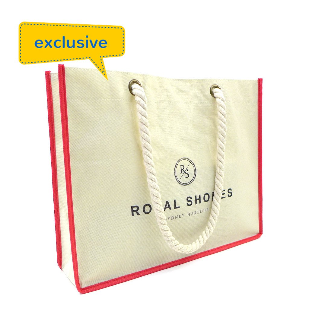 NWPP Rope Handle Shopping Bag(NW-2006) - greenpac.com.au