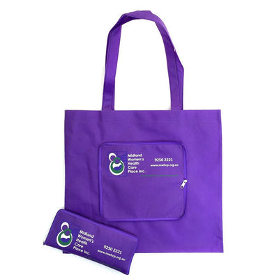NWPP Zipper Fold Up Bag (NW-4002) - greenpac.com.au