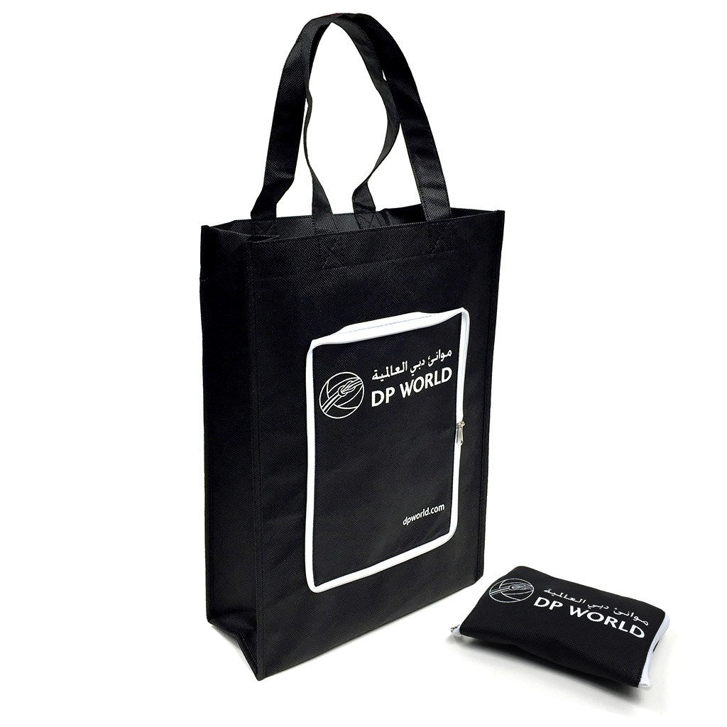 NWPP Zipper Fold Up Bag With Side Gusset (NW-4006) - greenpac.com.au