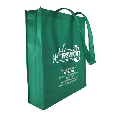 Non-woven Bag - Stock NWPP Bag With Large Gusset(SNB-35)