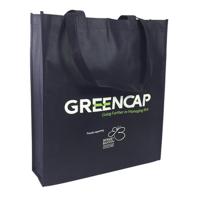 Non-woven Bag - Stock NWPP Bag With Large Gusset(SNB-35D)