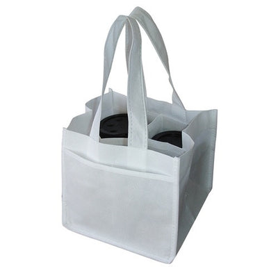 Non-woven Bag - Stock NWPP Coffee Cups Bag(SNB-25)