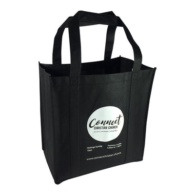 Non-woven Bag - Stock NWPP Supermarket Bag(SNB-32D)