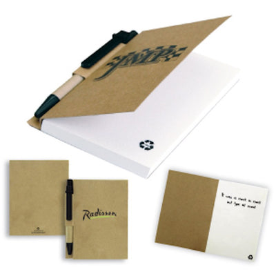 The Aria Recycled Notebook(SNBS-18) - greenpac.com.au