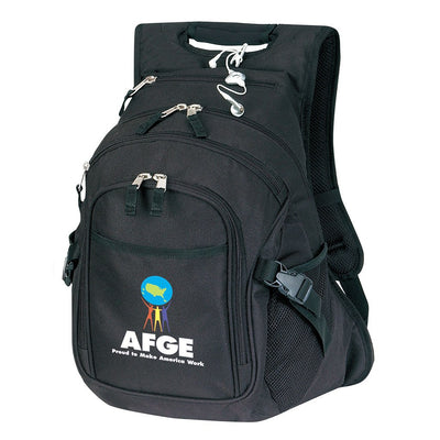 Nylon Bag - Stock Nylon Deluxe Computer Backpack(SNB-47D)