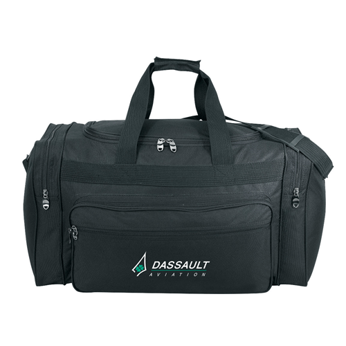 Stock Nylon Deluxe Travel Bag(SNB-45D) - greenpac.com.au