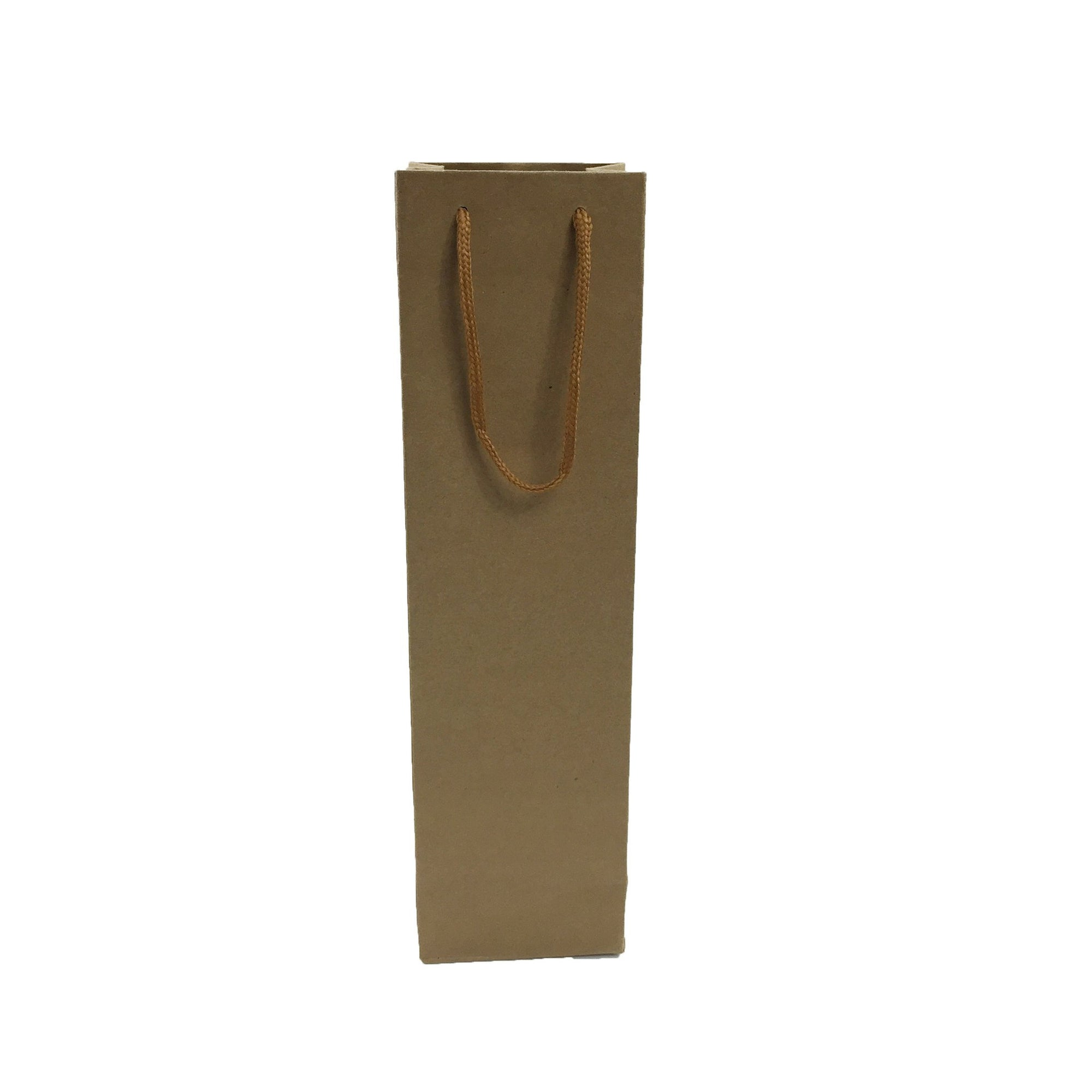 Kraft  Paper 1 Bottle Bag-Brown((KP-06) - greenpac.com.au