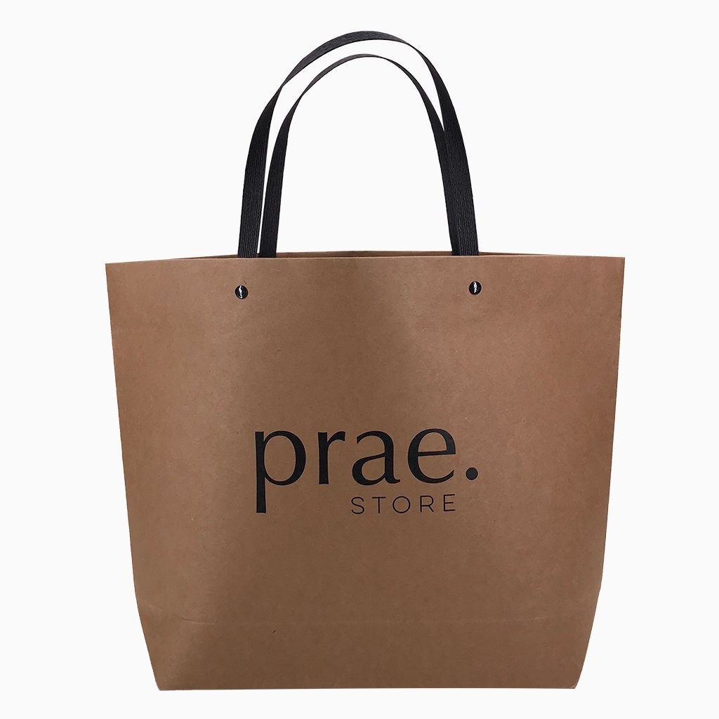 Kraft Paper Chic Bag-Small(KP-08) - greenpac.com.au