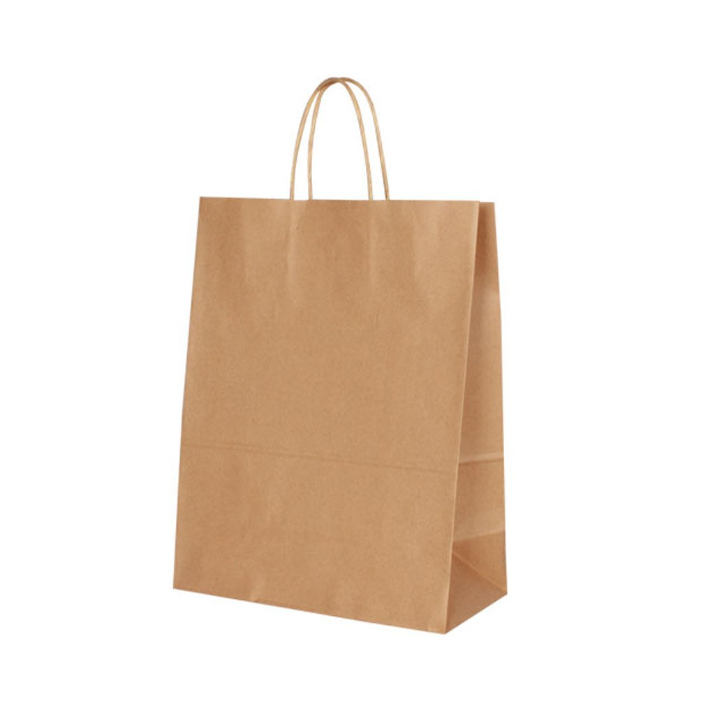 Kraft Paper Medium Bag-Brown(KP-03) - greenpac.com.au