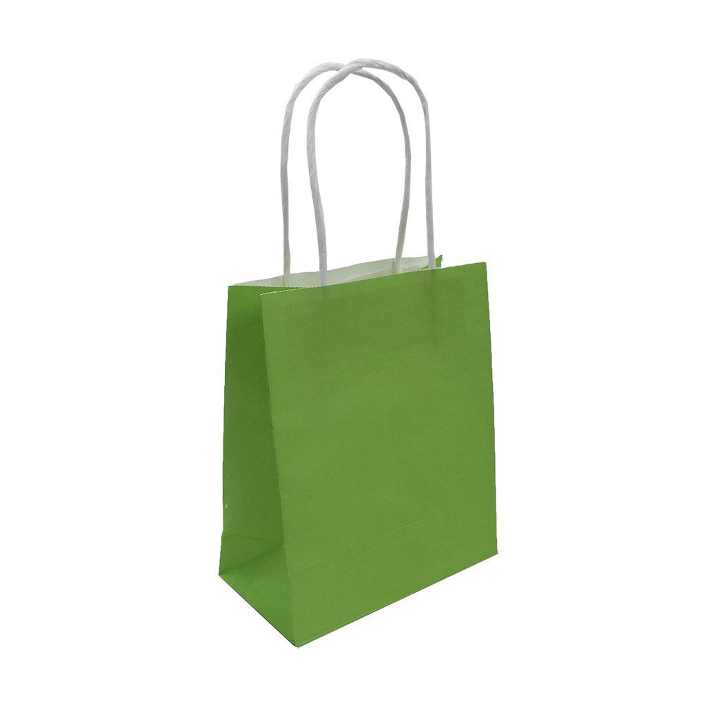 Kraft Paper Mini Bag-Coloured(KP-11) - greenpac.com.au