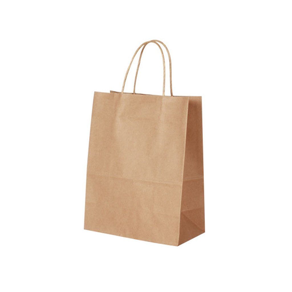 Kraft Paper Small Bag-Brown(KP-02) - greenpac.com.au