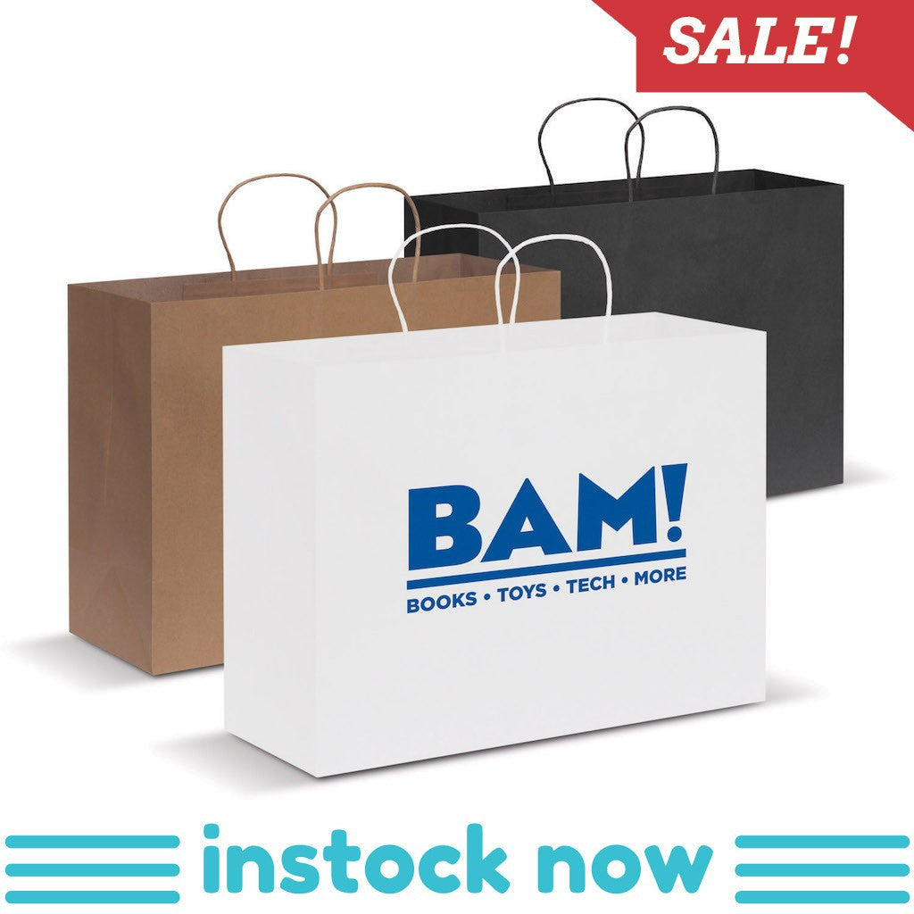 Stock Kraft Paper Carry Bag-Extra Large(SLP-08T) - greenpac.com.au