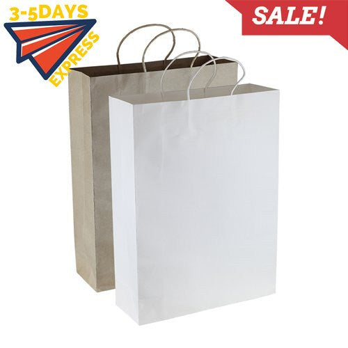 Stock Kraft Paper Shopping Bag(SKP-01D) - greenpac.com.au