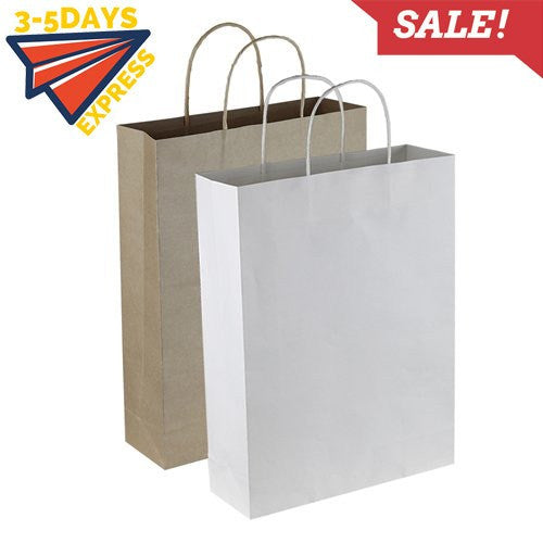 Stock Kraft Paper Trade Show Bag(SKP-02D) - greenpac.com.au