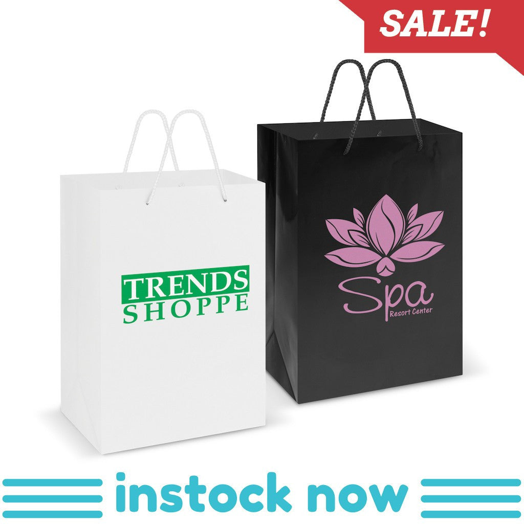 Stock Laminated Paper Carry Bag-Large(SLP-04T) - greenpac.com.au