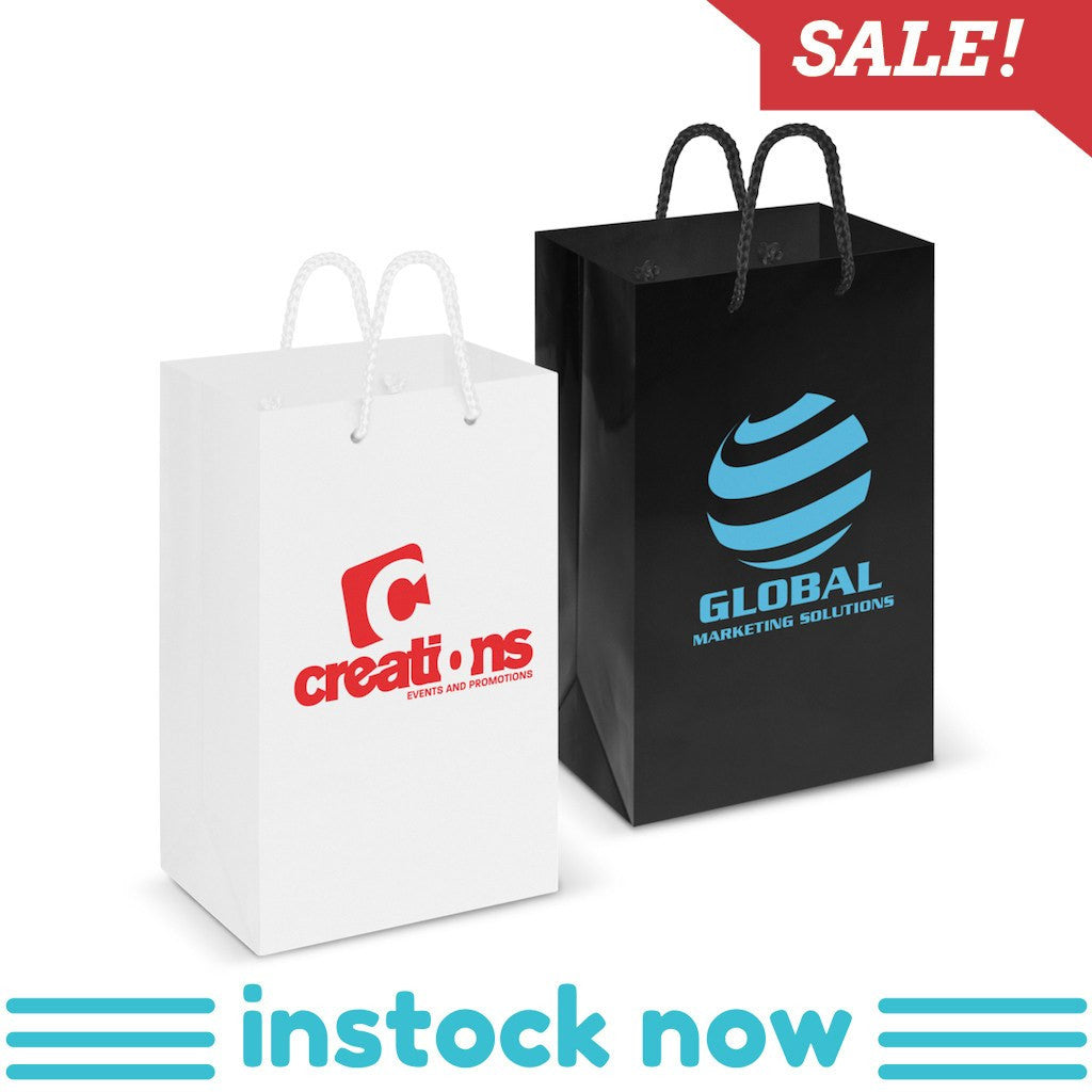 Stock Laminated Paper Carry Bag-Small(SLP-02T) - greenpac.com.au