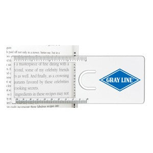 The Easy Reader Magnifier Ruler (SDA-11) - greenpac.com.au