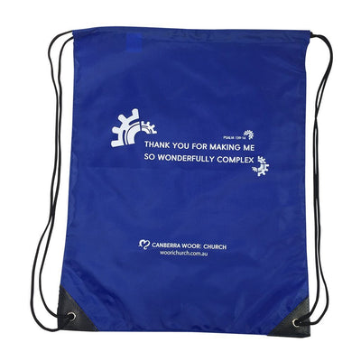 Stock Nylon Backsack(SNB-16D) - greenpac.com.au