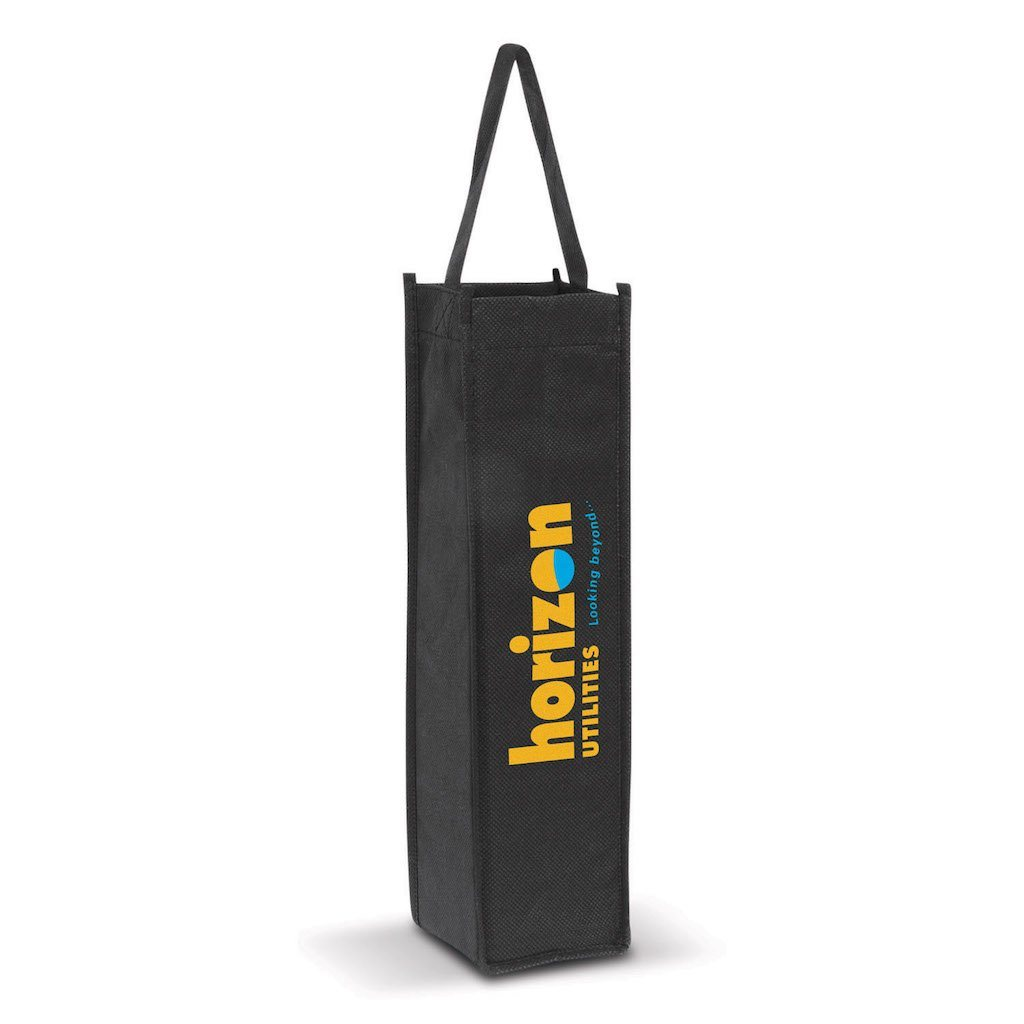 Stock Single Handle NWPP Wine Bag(SNB-54T)