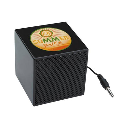 Mini Cube Speaker(STP-01) - greenpac.com.au