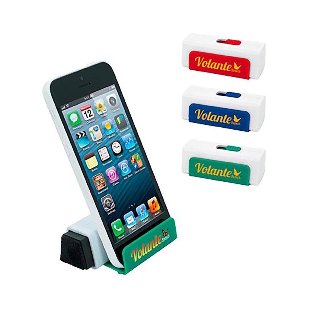 Phone Stand With Screen Cleaner(STP-53) - greenpac.com.au