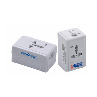 Technology - Universal Adapter With USB(STP-79)