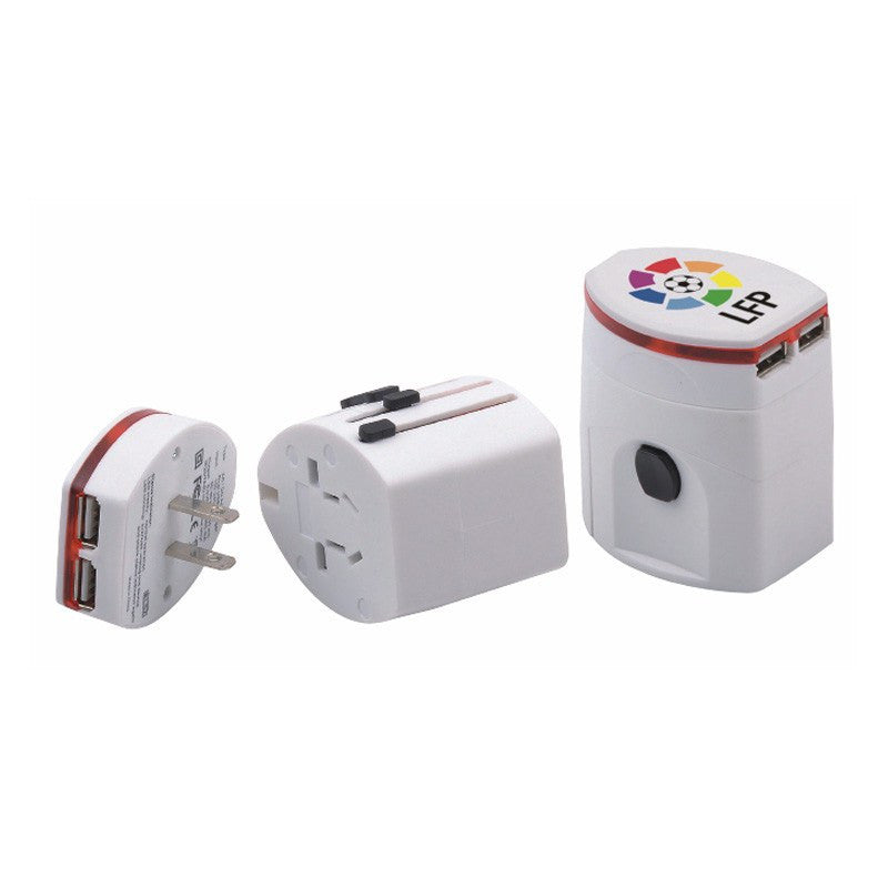 Universal Travel Adapter with USB(STP-78) - greenpac.com.au