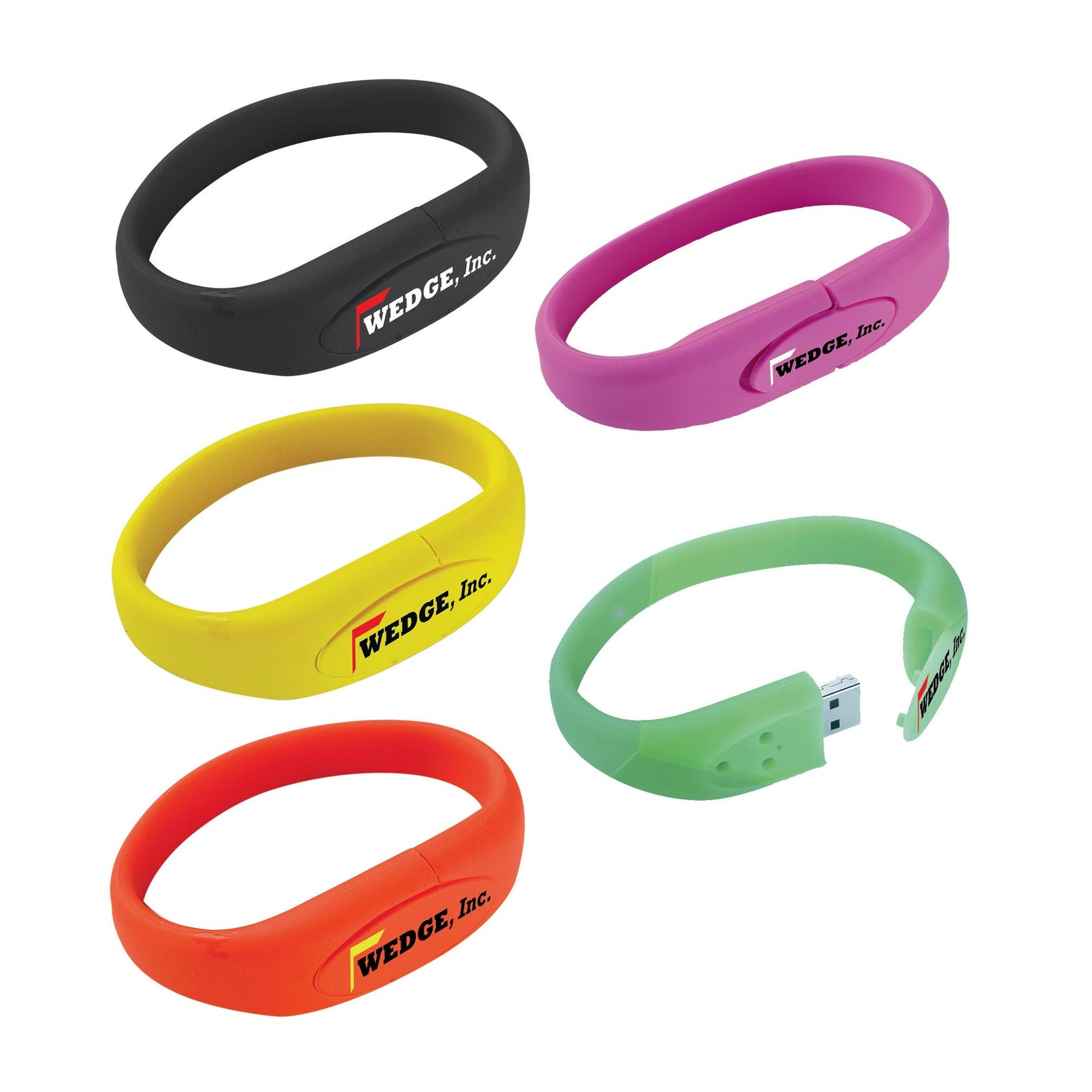 Bracelet USB 2.0 Flash Drive(SUSB-02) - greenpac.com.au