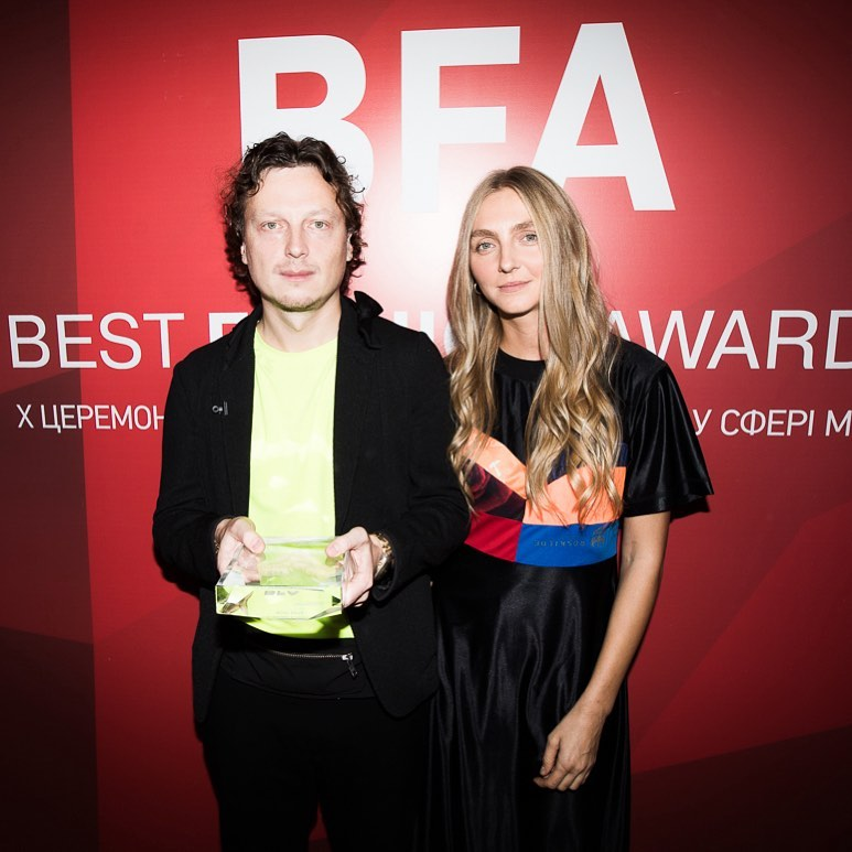 "KSENIASCHNAIDER won BFA ""Sustainable Fashion 2019"" and ""Breakthrough of the Year 2019"""