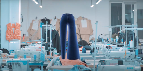 Surreal story about how Asymmetrical Jeans were created