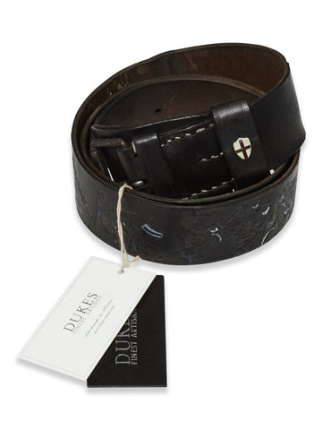 BLUE DE GENES GARI BELT BLACK