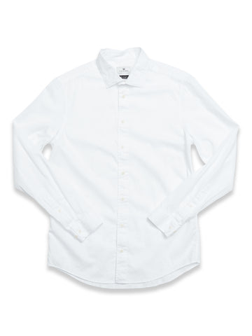 BLUE DE GENES BRILLIANTE SHIRT WHITE