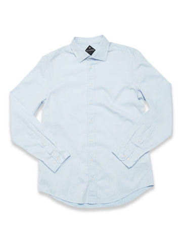 BLUE DE GENES MIGUEL BRILLIANTE SHIRT LIGHT BLUE