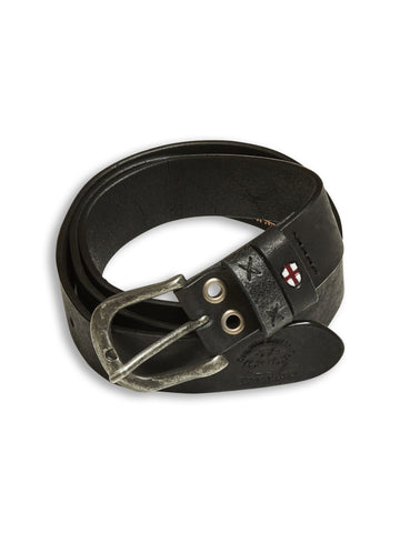 BLUE DE GENES BARRA BELT BLACK