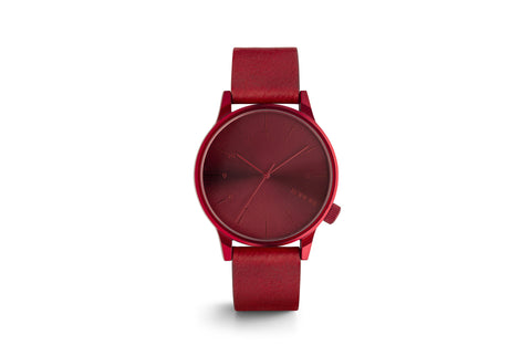 KOMONO WATCH WINSTON REGAL RED