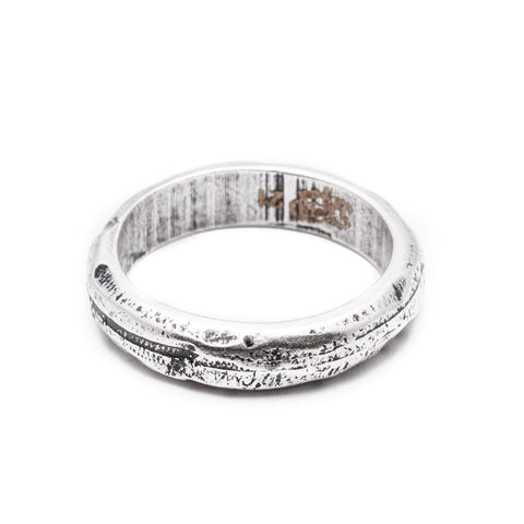 DOUBLEUFRENK FAITH SILVER RING