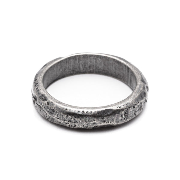 DOUBLEUFRENK FAITH DARK SILVER RING online kaufen
