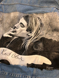 KURT COBAIN DENIM JACKET BY LUNATICA ART online kaufen