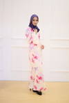 Hana Kurung in Meadow Cream