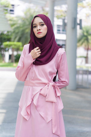 Elsa Dress in Dusty Pink - moderee - 1