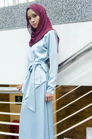 Elsa Dress in Earth Blue - moderee - 1