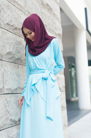 Elsa Dress in Baby Blue - moderee - 1