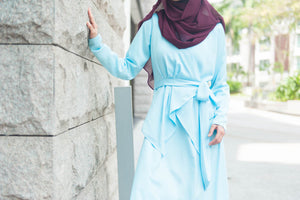 Elsa Dress in Baby Blue - moderee - 3