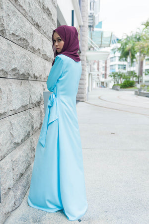 Elsa Dress in Baby Blue - moderee - 2