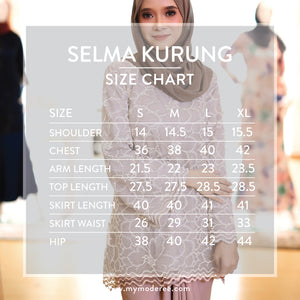 Selma Kurung in Mink Grey