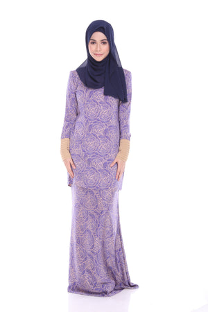 Iris Kurung in Purple - moderee - 1