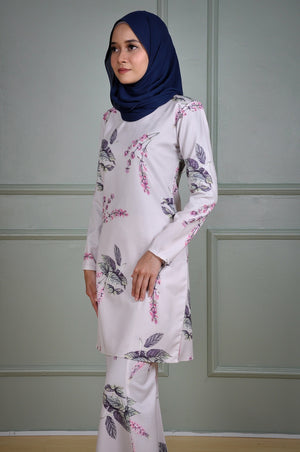 Helena Kurung in Cloudy Grey