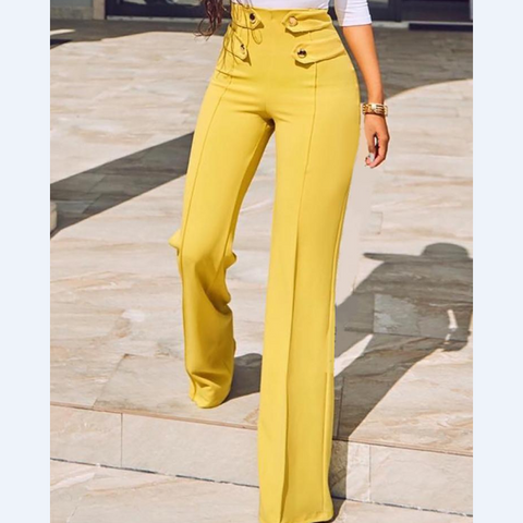High Waist Women'S Fashion Casual Pants