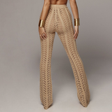 Sexy Knitted Trousers Beach Pants