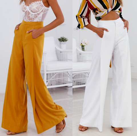 Sexy And Comfortable High Waist Casual Pants